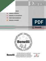 Benelli Pepe Owners Manual