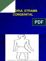 Piciorul Stramb Congenital