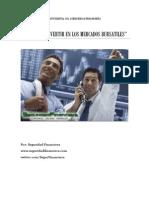 Gu%C3%ADa Para Invertir en Mercados Burs%C3%A1tiles