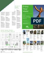 Oak Park sculpture walk map