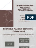 Expo FisioPato  Grupo 7 .- ENFISEMA PULMONAR