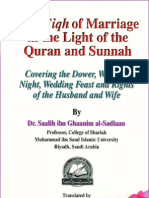 Fiqh of Marriage in the Light of the Qur an and Sunnah