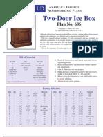 Two-Door Ice Box