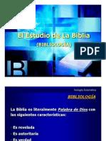 Diapositivas-Bibliologia