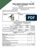 E5QE-30303-316-A120 Versa Electric Quick Exhaust Valve