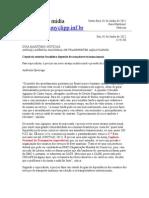 Comércio exterior brasileiro depende de armadores transnacionais - Agripino