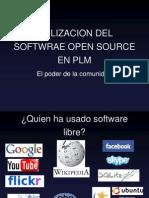 Utilizacion Del Softwrae Open Source en Plm