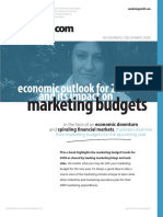 2009 Marketing Budgets