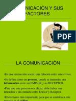 COMUNICACIÓN Y SUS FACTORES