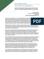 International Medical Corps Press Release, South Sudan Refugee Response, 6-6-12