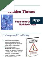 Hidden Threats GMO Food 2009 01 19