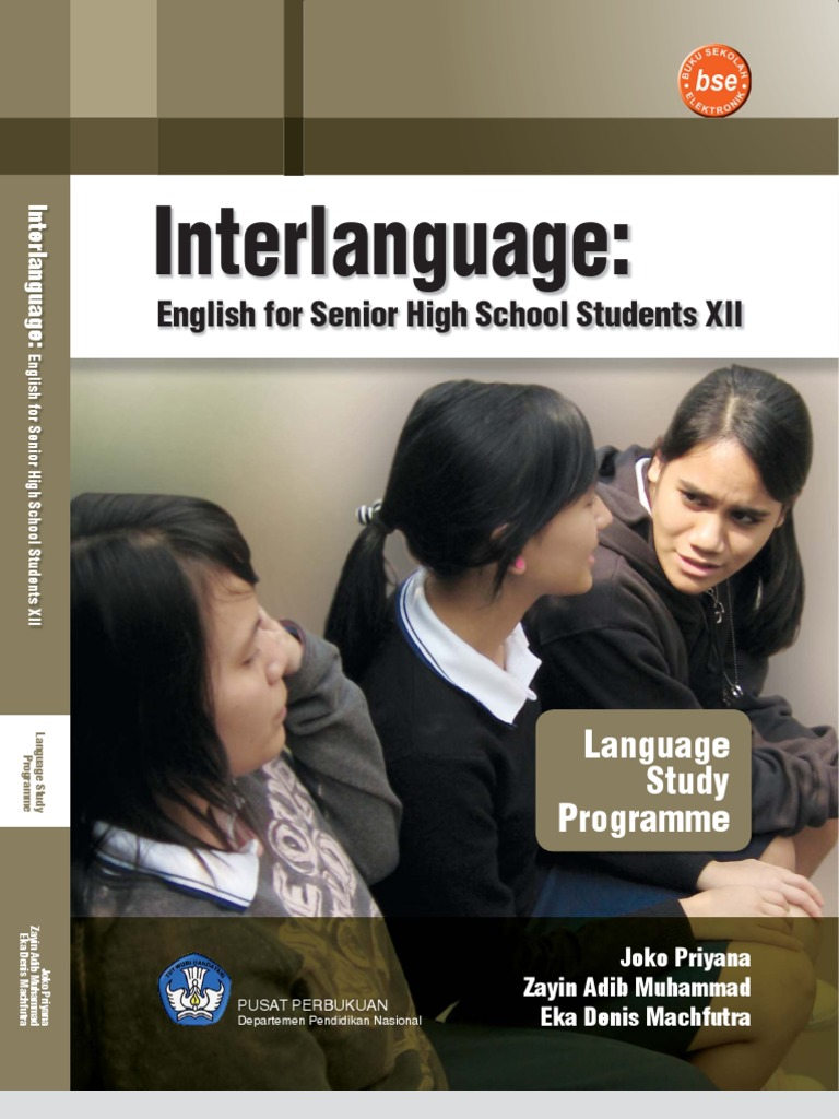 Buku Pelajaran SMA Kelas 12 Bahasa Inggris