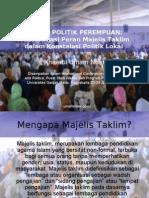 Ijtihad Politik Perempuan