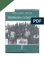 introducción a la sociología - jorge gilbert ceballos