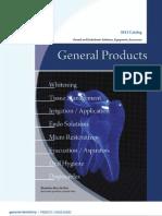 Vista General Products Catalog