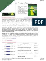 Fire Hydrant Pressure Logger - Telog