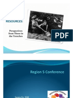 Region 5 Leveraging Resources 2012 Rd