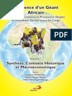 Résilience d'un Géant Africain Volume I