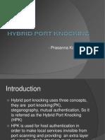 Hybrid Port Knocking