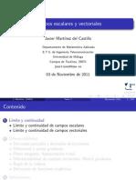 Pres3 Campos Escalares y Vectoriales