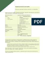 Bugetul Personal.proiect Facultate