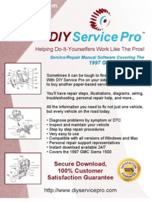1997 Gmc Sierra 1500 Service Manual Repair Manual Online Software Download Chevrolet Silverado Truck