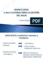 Agua Marco Legal