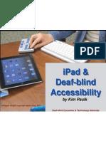 iPad & Accessibility 2011