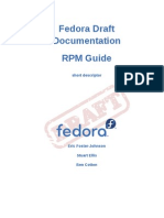 Fedora Draft Documentation 0.1 RPM Guide en US