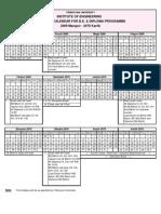 Academic Calendar 2069 to 2072 BE-Diploma