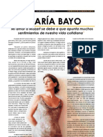 Maria Bayo. Entrevista ARE-MORE 2004