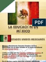 La educación en mexico