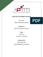 Kertas Kerja Program Pengurusan Tekanan