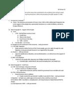FRQ Outline #2