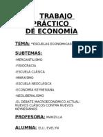 Introduccion, Mercantilismo, Fisiocracia, ESCUELA CLASICA, MARXISMO