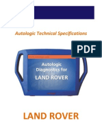 Land Rover Technical Specifications Updated Oct 10