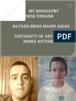 Biography Power Point alvaro Marin