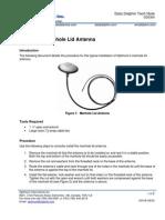 DD0304 Installing a Manhole Lid Antenna