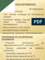 ADHESIVOS BITUMINOSOS(DIAPOSITIVAS)