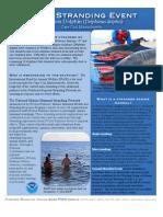 2012 Cape Cod Mass Stranding Fact Sheet