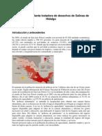 Proyecto de La Planta Tratadora de Desechos de Salinas de Hidalgo