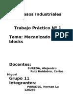 TP Mecanizado de Blocks