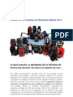 Informe Europeo SRI - RACE 2012
