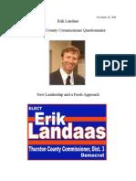 Landaas Questionnaire