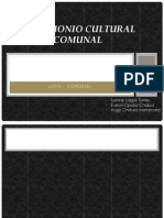 Patrimonio Cultural Comunal