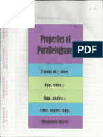 Geometry Interactive Notebook 6-2