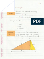 Geometry Interactive Notebook 8-1