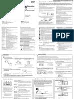 TandD RVR-52A Manual
