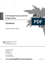 Korea Exams Cambridge Yle Starters Movers Flyers Handbook 2