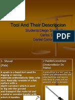 Tool and Their Descripcion